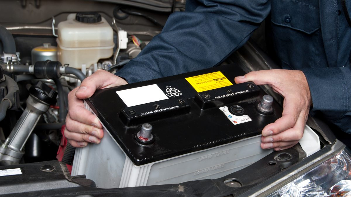 Checklist for maintaining car battery
