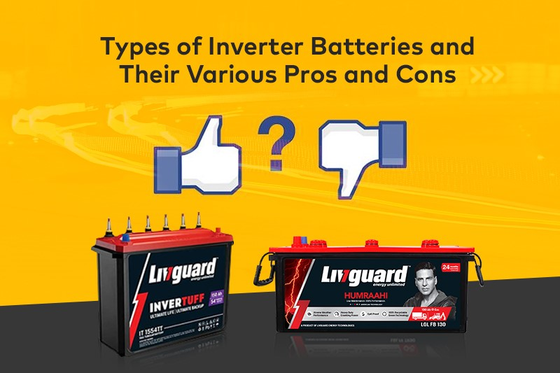 Types of Inverter Batteries