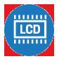 User Friendly LCD Display